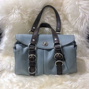 COACH Chelsea Bag Pebbled Leather Satchel